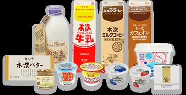 京口乳業株式会社 木次乳業の商品